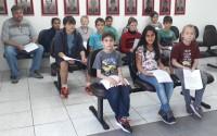Alunos da Escola Santo Antônio visitam a Câmara